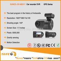 "SUNCO SV-MD011  Car DVR 1080P Vehicle Driving DVR Recorder 1.5"" 135 degree View angle G-sensor  Motion detection"