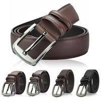 2014 Belts For Mens Casual Pin Buckle Leather Belt High Quality Designer Genuine Leather Belts Men's Belt Free Shipping MB838