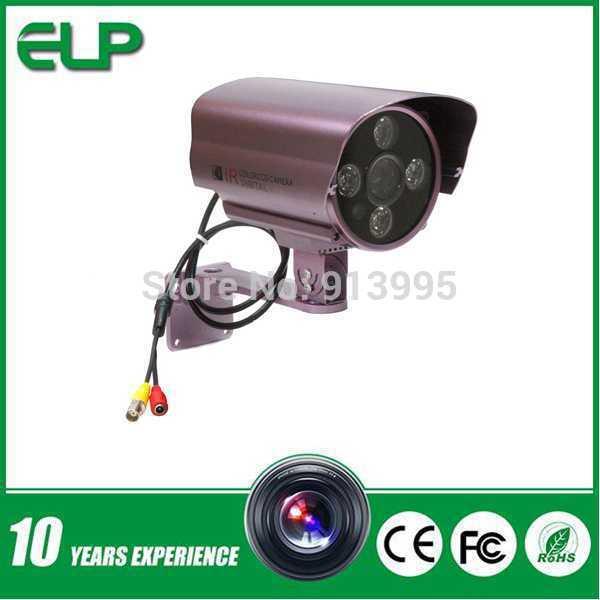 "1/3"" CMOS 1000TVL Bullet outdoor waterproof 100 meter ir distance cctv camera housing ELP-C9610F(China (Mainland))"