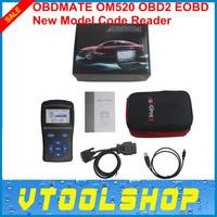 2014 Hot Promotion ! Superior Quality OBDMATE OM520 OBD2 Model Code Reader Free Shipping OM520 Scanner Software Upgrade On Line