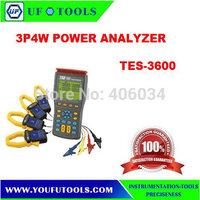 100% Brand New TES-3600 Power Quality Analyzer,Harmonics Power Quality Analyzer,3 Phase Power Analyzer