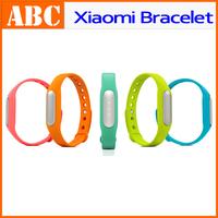 Xiaomi bracelet MiBand Wrist Smart Fitness Wearable Tracker Waterproof bluetooth IP67 Silicon Wrist Wrap for mi4 mi3 MIUI