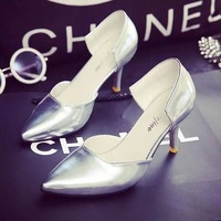 New Fashion Womens Ladies Stiletto High Heels Office Dress Work Court Platform Pumps 4 Color Free Shipping