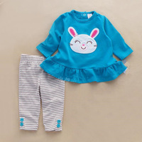 NEW autumn Baby boy girl clothing set kids cartoon clothes set for boys girls  high quality cotton long sleeve+pants