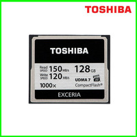 Toshiba 64/128G CF card 1000X high-speed memory card SLR camera memory card read write 120M 150M