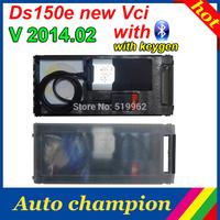 tcs CDP ds150e New vci 2013 R3 keygen as a gift DS150e with BLUETOOTH TCS scanner cdp pro plus for CARs+TRUCKs freeship