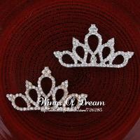 (30pcs/lot)  2 Colors 2014 Elegant Fashion Decoration  Princess Crown For Wedding Bride Quinceanera Tiaras For Bridal Headpiece