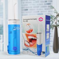 2014 YASI  Battery operated Rechargebale dental water pick /water flosser/dental oral irrigator passed CE,ROHS,FCC,FDA(FL-V5)