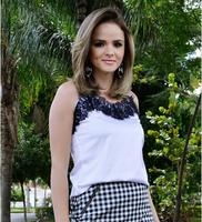2014 Summer Casual Chiffon Women Blusa Woman's Tops Regata Feminina Regatas Femininas Camisole Tank Top Blusas De Renda
