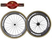 BladeX PRO ROAD CARBON WHEELSET 46088C - 60/88mm Clincher Carbon Wheels;Ceramic Bearings;Basalt Braking Surface; Bicycle Wheels