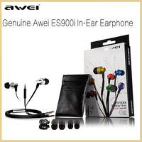 Genuine Awei ES900i In-Ear Earphone for Iphone IPOD Samsung HTC Xiaomi,Clear Bass with Mic Headset Headphone,Original package