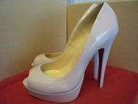 2014 summer new 14 cm high heel women pump. luxury patent leather peep toe platform pumps