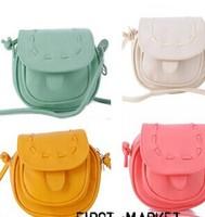 Lovely Cute mini Leather bag Adjustable women's Shoulder Bag Handbag small phone bag purse card bag[240191]