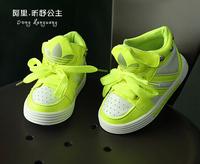 Retail a-b! Good quality Baby Boys AD shoes Fashion Tie UP Sneakers Autumn shoes 3 Colors 2014 kids boy Shoes Children shoes