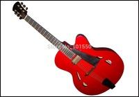 17inch Double pickups Handmade solid wood jazz guitar