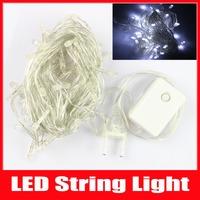 New Christmas Lights Cool White RGB LED String 5m 50 LED AC110V/220V Home Wedding Tree Luminaria Decoration Lamps Fairy Lights