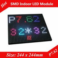 2014 Evershine! P7.62 Dot-Matrix SMD3528 LED Sign Module 32x32 Pixels 1/8 Scan Factory Price
