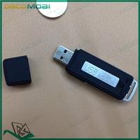 New Mini 4GB USB Pen Digital Audio Voice Recorder +USB Flash Memery Drive Long Time Recording Black 50Pcs/Lot DHL Free Shipping