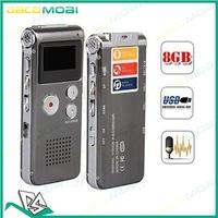SK-012 4GB Digital Voice Telephone Recorder MP3 WMA Mic USB Digital Voice Recorder 30Pcs/Lot DHL Free Shipping
