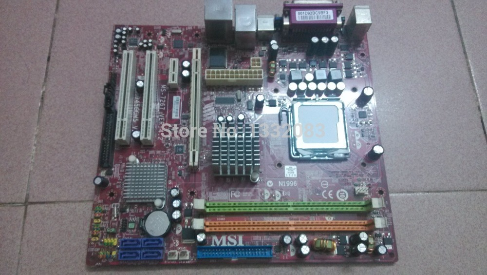 free shipping 90% NEW LGA 775 motherboard for MSI 945GCM5 V2 desktop board MS-7267 VER:4.2 fully integrated support PD/CD/P4(China (Mainland))