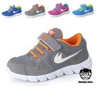 2014 children's little barefoot Leisure Comfortable Sneakers Brand Fashion Boys Girls Kids Running Sport Shoes