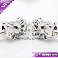 NEW 100% S925 Sterling Silver Perfect Gift Charm beads Fit European Woman Style Jewelry Charm Bracelets & Necklaces Pendant