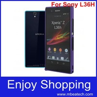 Hotselling 0.7mm Ultra Thin Original Aluminum Bumper case cover for sony xperia z ultra Metal Frame Free Shipping