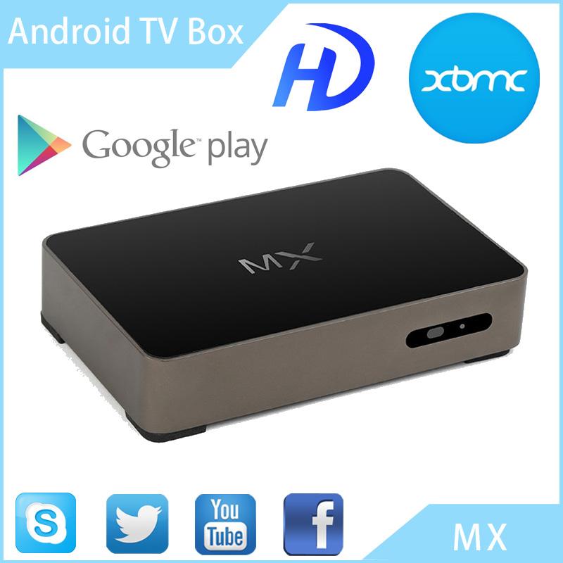 NEW Original MX Android TV Box 4.2.2 Dual Core XBMC Midnight 1G+8G Dual ARM Cortex A9 WiFi Mini PC Support MX Bluetooth HDMI(China (Mainland))