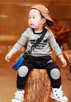 NEW Spring Autumn Leisure KIDS 2y-5y Sport suit set long sleeve children T shirt+kids pants clothing set,2pcs sets