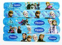 12pcs 2014 popular MIXED Colors Frozen Princess Elsa Anna Olaf Magic Ruler Slap Band Bracelets / bangles Party Child Gift