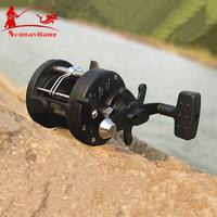 New Promotion !  TSSD3000L 3.8:1 Right Hand Black Baiting Casting Drum Type Fishing Line Reels  Wheel Casting Fishing Reel