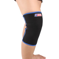 Hot Adult Comfort Breathable Knee Support Ultralight Sponge Wrap Brace Strap Protector Blue black [TY38-TY39]