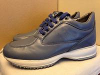 italian Luxury H logo men leisure sneaker 2014 new, all genuine leather interactive fashion shoes climbing footwear for men