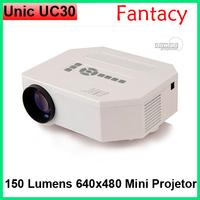 Original Unic UC30 projector Mini Led Projector HDMI Home Theater Projector HDMI VGA AV USB Portable 1080P Digital projector