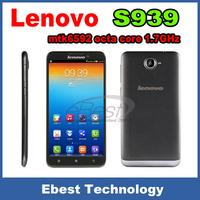 100% original Lenovo S939 phone mtk6592 octa core 1.7GHz RAM 1GB ROM 8GB 6.0inch smart mobile phone Android4.2  Dual SIM 3000mAh