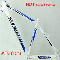 Free shipping MTB high-strength aluminum tubes MTB bike frame alloy aluminum pedal  road bike saddle  bicycle frame