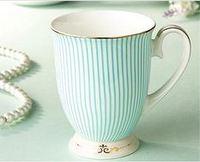 Victorias luxury fashion bone china ceramic mug, coffee cup, free shipping