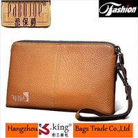 B.King 2014 New Luxury Brand Genuine Leather Desigual Men Clutch Wallets , Unique Carteira Men Clutch Business Handbag