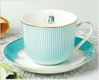 Victorias rose bone china luxuary coffee cup, with tray, with spoon, free shipping