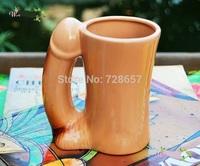 Seducing Ceramics Man's Sexual Organ Penis Mug Cup Drinkware Decoration Barware Craft Accessories Embellish for Lovers and Gift