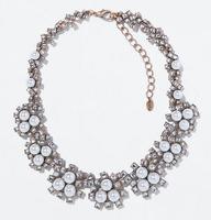 M1306 Wholesale NEW 2014 Z design chocker chunky bib necklace for fashion women & pendant chunky collar jewelry necklace