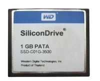 SiliconDrive 1GB PATA Wide Temp Compact Flash Card 1 GB CompactFlash I SSD-C01G-3500