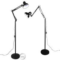 American study, living room floor lamp modern minimalist bedroom lamp creative dual Mahjong send the clip specials Z030