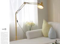 European and American style floor lamp modern minimalist bedroom living room ideas Mahjong dual fishing pole lamps Z035
