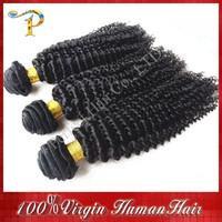 Brazilian Kinky Curly Virgin Hair 3&4pcs lot 100% Unprocessed Modern Show Hair Cheap Brazilian Human Hair Extensions On Sale