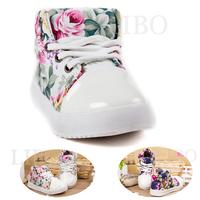 2015 spring autumn new fashion girls children's floral shoes casual soft canvas  Korean flower princess shoes