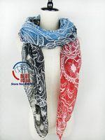 2014 Top Selling Fashion Women Gradient Color Cashew Print Brand  Long Scarf Elegant Cotton Scarves Neck Wrap Stole Neckerchief