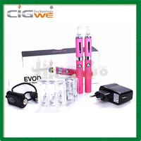 Free shipping Genuine kanger evod double kit Electronic cigarette Double kit Kanger Evod eGo E Cigarette kit Gift Box