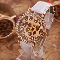 2014 New fashion Women Dress Watches Women rhinestone Watches Vintage Leather Fashion Quartz Retro Sports Vintage WristWatches