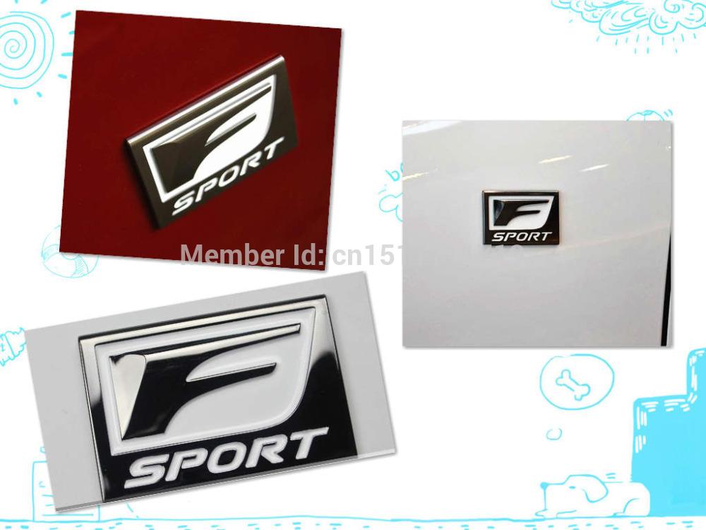Best Sport Logos 3d Metal f Sport f Sport Logo